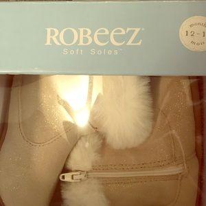 Robeez Booties Gold 12-18m
